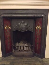 Beautiful Edwardian Antique fireplace