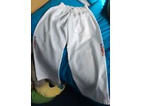 UKTC Taekwon-Do Child's Suit. Size 1__. Would fit 7-9/10 year old. Great condition.