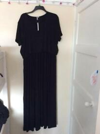 ASOS maternity/breast feeding maxi dress size 20