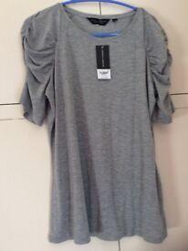 Women's grey top size 18