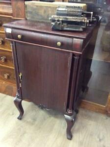 Antique Turn of the Century Sheet Music Cabinet