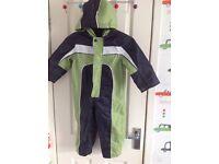 Mothercare childrens rain suit