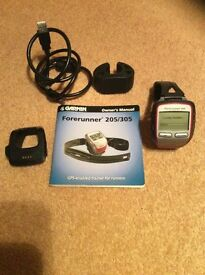 Garmin Forerunner 305 GPS watch for running or cycling