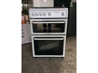 Hotpoint HAGL60P Gas Cooker - White UK DELIVERY #E149133