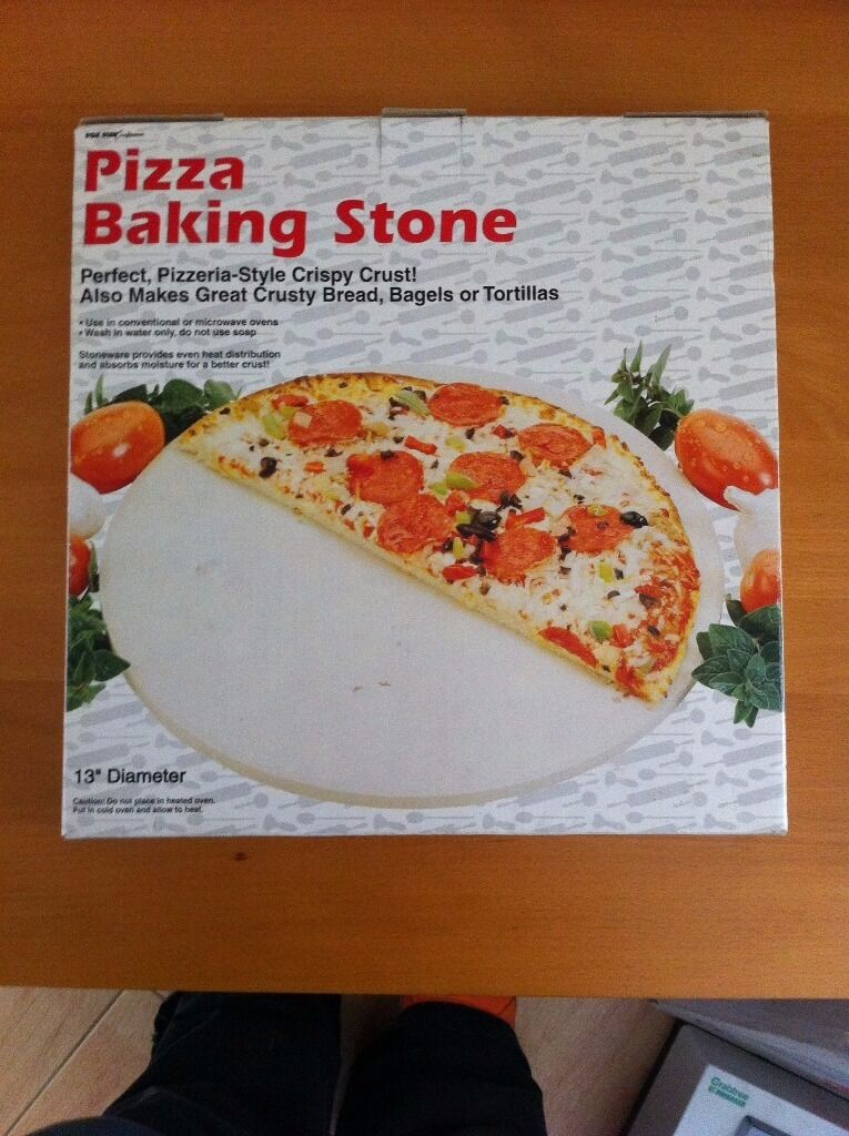 Pizza Baking Stone Boxedin Broadstone, DorsetGumtree - Pizza Baking Stone serve direct to table Collection broadstone Please text as chats not received