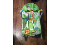 Fisher Price Rainforest Baby to Toddler Rocker Seat