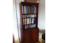 Beautiful, Sturdy Wooden Bookcase/Cabinet