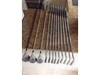 Set of Howson Golf Clubs