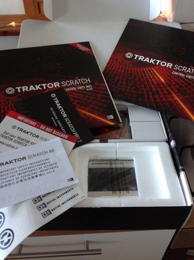 *Brand New/Unused* Traktor Scratch A6 Digital Vinyl System - Native Instruments