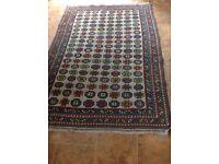 Turkish rug, multicoloured 1.28m X 1.90m