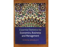 Essential Statistics for Economics, Business and Management