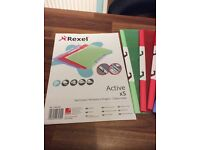 Rexel A4 tab pockets 5 to a pack(5 packs)