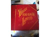 """Box set of Records """"These you have loved"""""""
