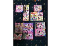 Minnie Mouse JigSaws & Drawing board