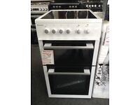Blomberg 50cm white electric cooker. Ceramic hob £269 new/graded 12 month Gtee