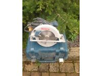 Bosch circular saw with carry case