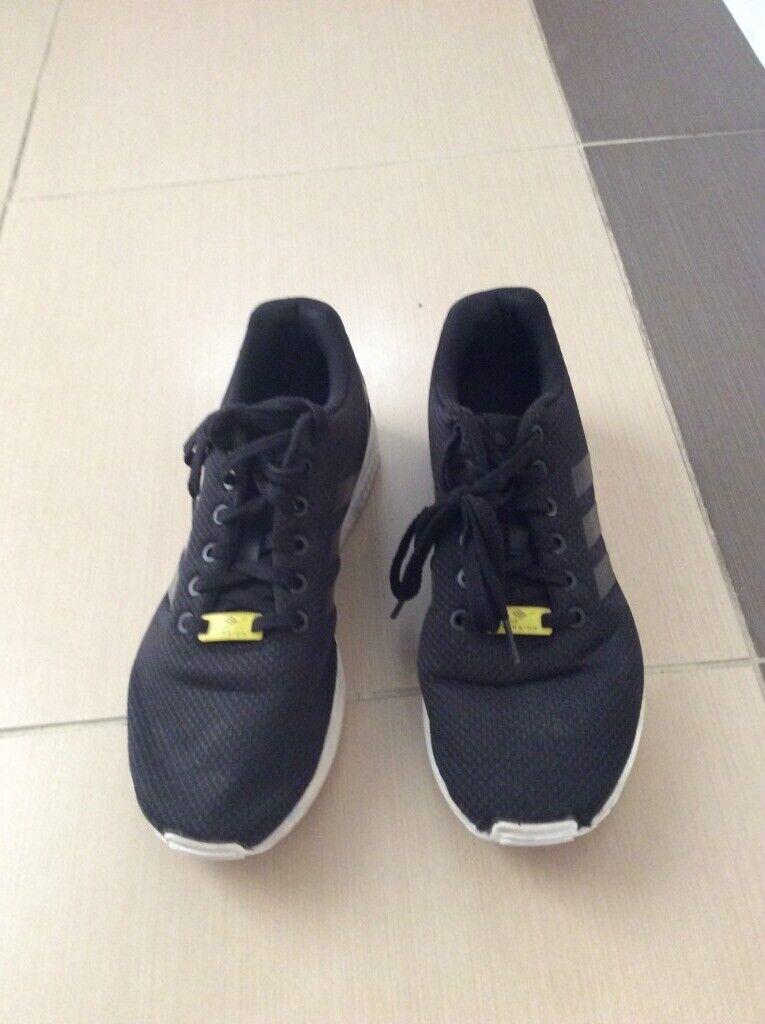 sale retailer 2961e 375ab Men s Adidas ZX Flux Black - UK 8