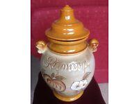 RUMTOPF (Rum Pot)