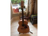 Crafter GA-6/N guitar semi acoustic