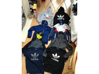 ADIDAS Adult Size Medium Bundle/Job Lot (8 Items) Hoodies/T-Shirts/Coat