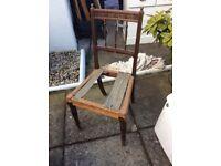 Antque wooden chair