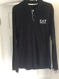EA 7 Armani polo top