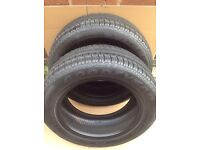 "Vw 16"" spare (michelin tyre)and 2x15"" goodyear eagle tyres"