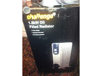 Challenge 1.5kW Oil Filled Radiator