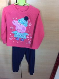 M&S Pepper Pig jumper & leggings