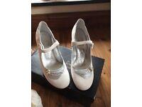 Rachel Simpson bridal shoes