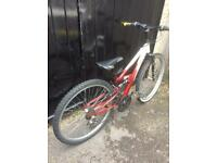 """Apollo FS26 Full Suspension Mountain Bike - suit teenager / adult up to 5'4"""""""