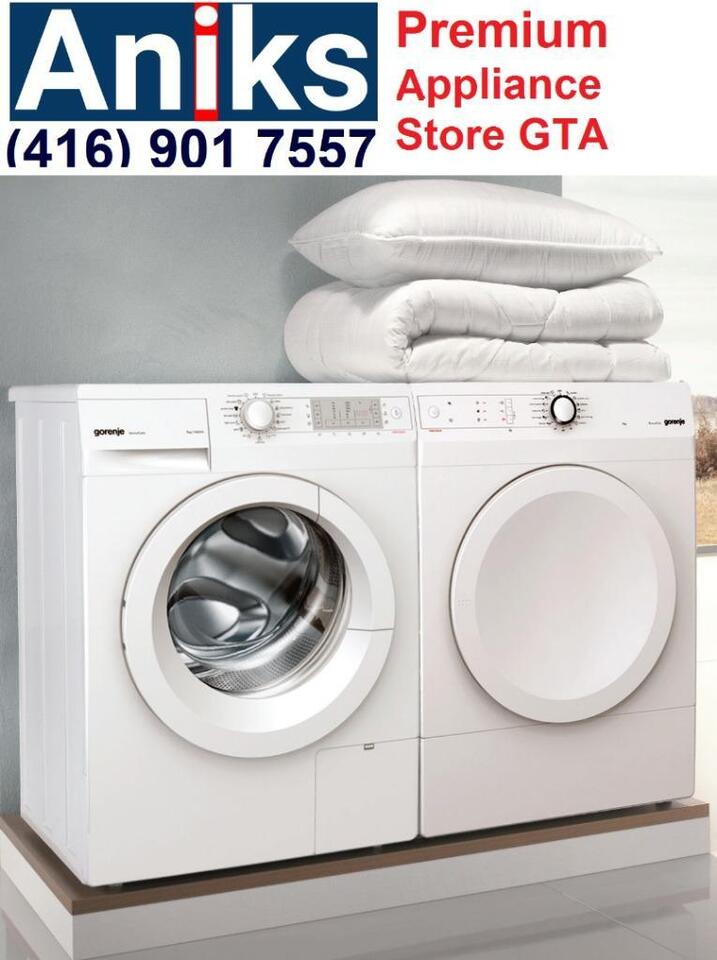 Gorenje w7443l and d722cm 24 european washer and vented for European appliance brands