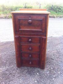 Rare antique oak filing cabinet