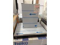 Beko select 60cm digital cooker hood. New/graded 12 month Gtee