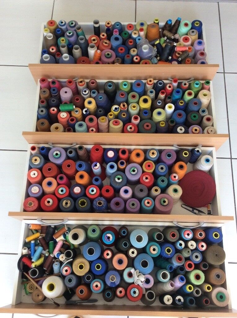 Job lot of industrial cottons £50.00o,v,n,o