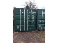 Self storage shipping container