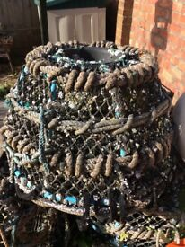 Used lobster/crab pots