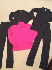 Girl's Trespass ski jacket / trousers bundle
