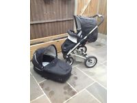 Mutsy Travel System Pushchair Stroller Pram with lots of extras