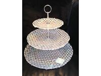 Glass Cake Stand - new