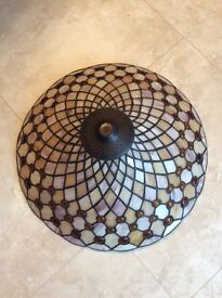 Glass Tiffany Style Ceiling Uplight Shade