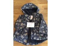 Baby Girls Navy Coat Size 6-9 Months