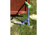 Blue Ozbozz my first scooter