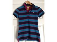 Joules T shirt and collar