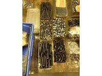 Screws, nuts & bolts job lot