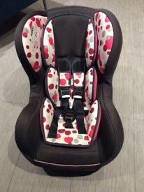 Kiddicare Pink Orbit Car Seat