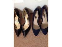 Brand new ladies size 4 1/2 & 5 footwear & handbags