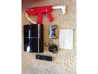PS3 300GB WITH GAMES AND ACCESSORIES