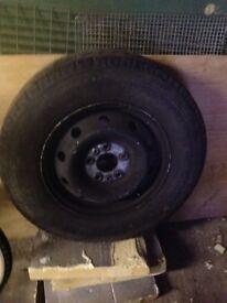 Fiat Ducati wheel tyre