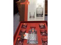 Wedding present - Whisky set boxed & unused